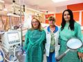 Salvați Copiii a donat secției de neonatologie a SCJU Sibiu aparatură medicală esențială, pentru ca prematurii să supraviețuiască