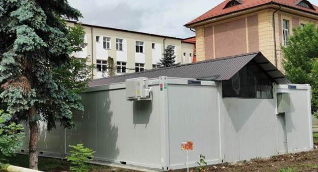 Compartimentul tampon al UPU Sibiu a fost relocat într-un modul extern