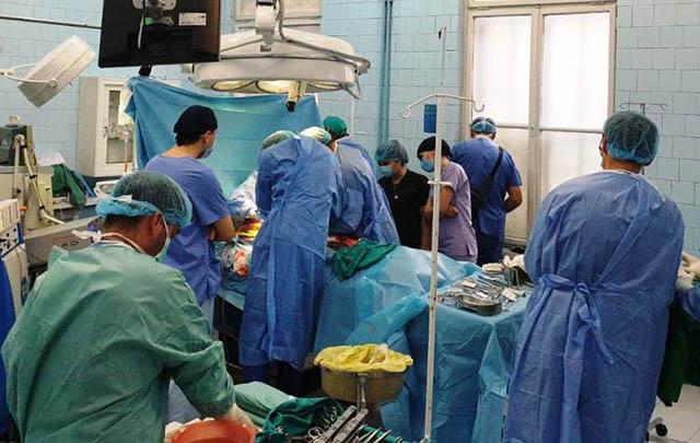 Prima prelevare de organe de la SCJU Sibiu în 2019
