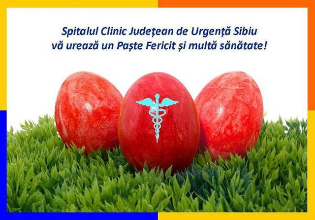 Informare program SCJU Sibiu în perioada sărbătorilor de Paşti și 1 Mai