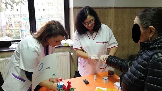 """""""Familia și diabetul"""" – campanie de testare a glicemiei cu ocazia Zilei Mondiale a Diabetului"""