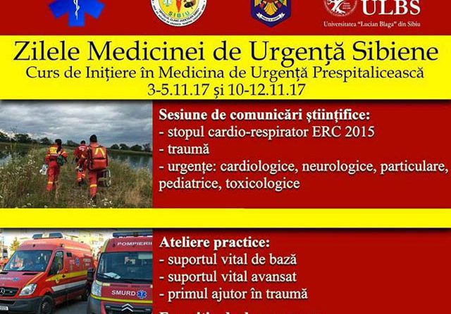 Zilele Medicinei de Urgență Sibiene – 2017