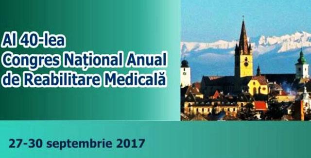 """Ediție aniversară a Congresului Anual de Reabilitare Medicală la Sibiu:sub motto-ul """"Dizabilitatea nu trebuie să fie un obstacol în calea progresului"""""""