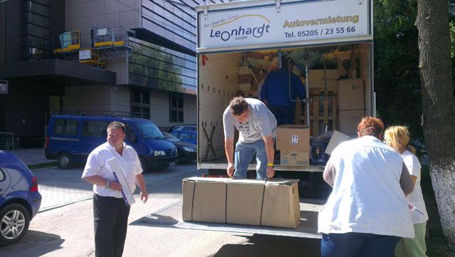 SCJU Sibiu a primit o donaţie de materiale sanitare în valoare de 25.000 euro
