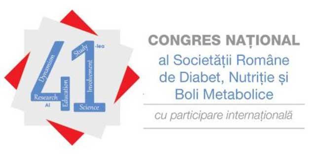 Diabetologii din țară și străinătate se reunesc la Sibiu, la cel de-al 41-lea Congres Național al Societății Române de Diabet, Nutriție și Boli Metabolice