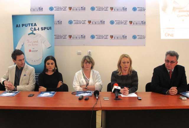 Organizaţia Salvaţi Copiii a donat SCJU Sibiu un incubator pentru nou născuţi
