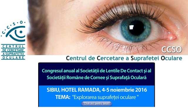 Personalități ale oftalmologiei discută la Sibiu despre explorarea suprafeței oculare