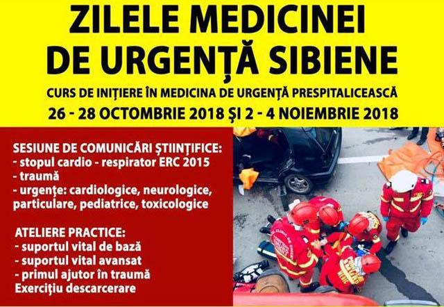 Zilele Medicinei de Urgenta Sibiene – 2018, gata de start
