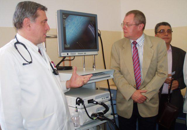 Inaugurare cabinet de endoscopie digestiva