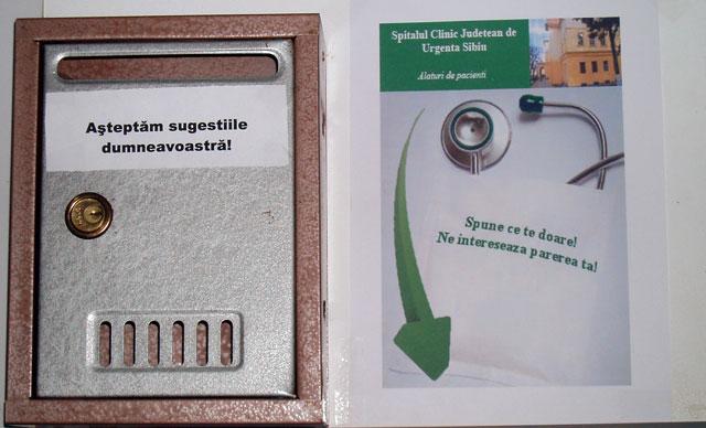 Proiect de evaluare a  gradului de satisfacţie vizavi de serviciile medicale oferite
