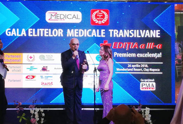 Spitalul Județean și Facultatea de Medicină din Sibiu, în prim plan la Gala Elitelor Medicale Transilvane 2018