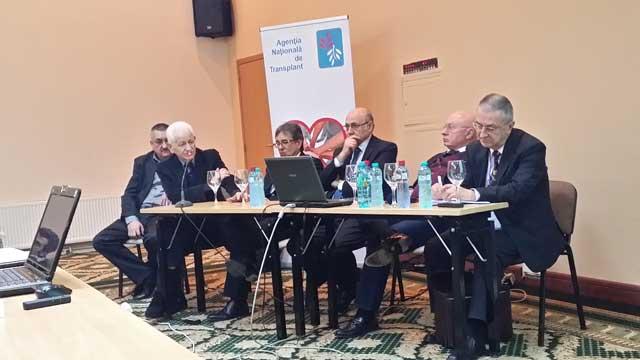 Medicii anestezişti ai SCJU Sibiu, la consfătuirea Agenţiei Naţionale de Transplant