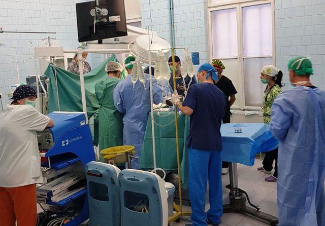 A doua prelevare de organe din 2017, realizată la SCJU Sibiu