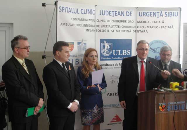 Servicii complexe şi complete oferite de Centrul Stomatologic Universitar din cadrul SCJU Sibiu