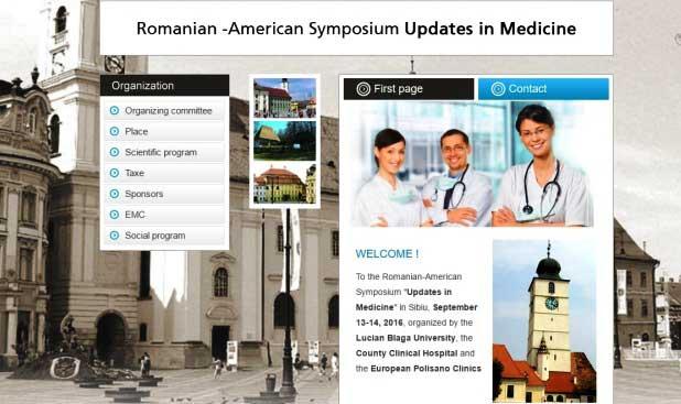"""Simpozionul româno-american """"Updates in Medicine"""" are loc la Sibiu"""
