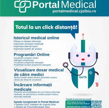 PORTAL MEDICAL – locul unde găsești toate datele despre SĂNĂTATEA TA