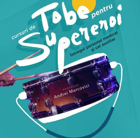 Tobe pentru supereroi – un proiect al Filarmonicii Sibiu pentru personalul medical al SCJU Sibiu