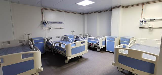 SCJU Sibiu a deschis structura modulară pentru pacienții COVID-19