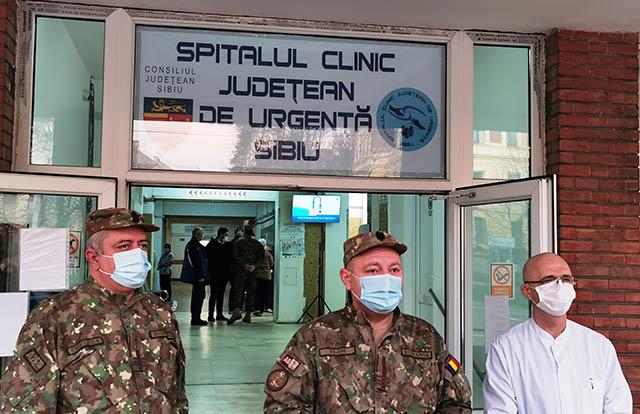 Campanie de vaccinare anti-Covid a început la SCJU Sibiu: 135 de persoane vaccinate în prima zi