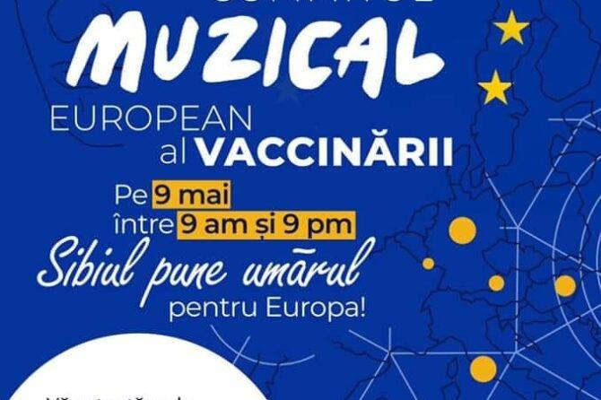 Sibiul pune umărul pentru Europa. Pe 9 Mai, vino să te vaccinezi la Summit-ul Muzical de la Filarmonica de Stat Sibiu