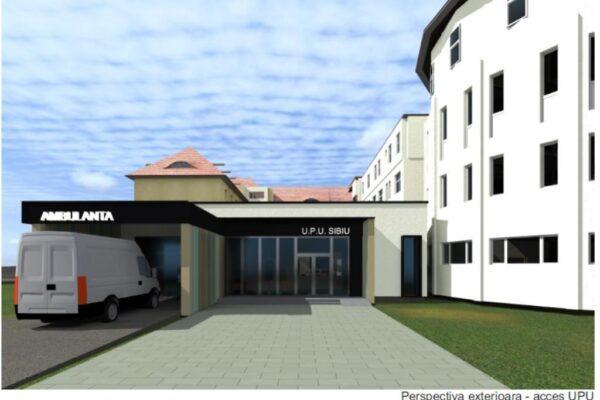 START pentru extinderea Urgenței de la Spitalul Clinic Județean de Urgență Sibiu!