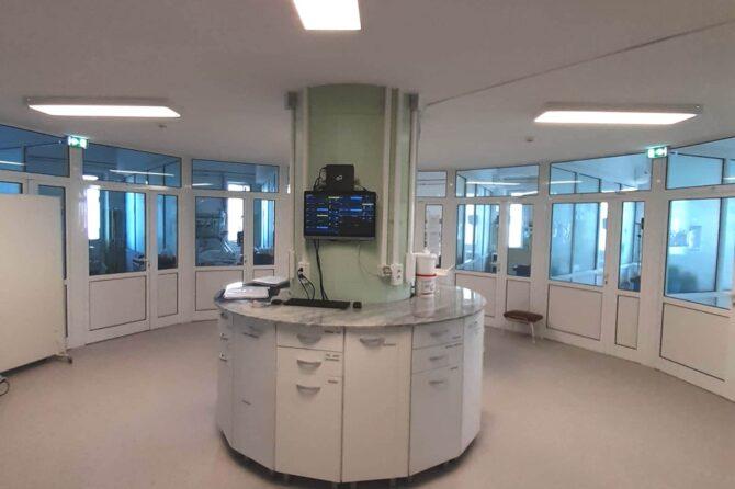 SCJU Sibiu a redeschis etajul doi al Secției Clinice ATI, după efectuarea unor lucrări complexe de modernizare