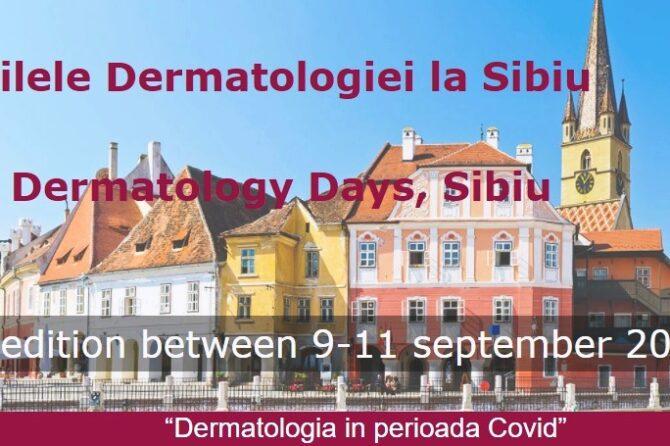 """Zilele Dermatologiei la Sibiu –  """"Dermatologia în perioada Covid"""""""