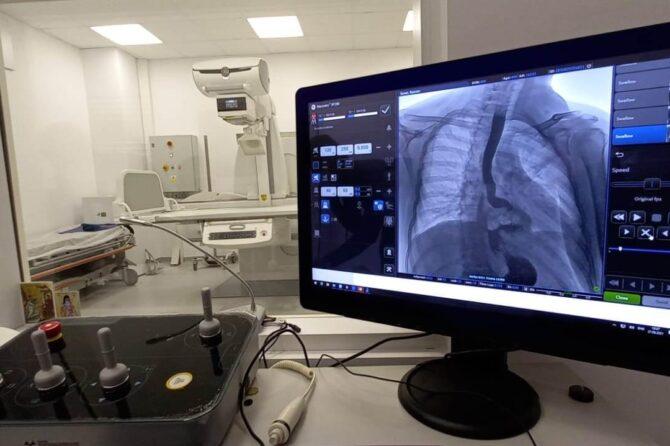 Noi dotări pentru radiologia Spitalului Clinic Județean de Urgență Sibiu: aparat ultra-performant de radiologie și radioscopie digitală